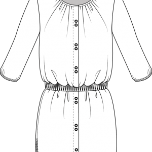 Robe patron Bergamote Christelle Beneytout Christelle Coud