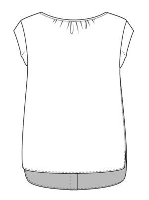 blouse bergamote christelle coud christelle Beneytout