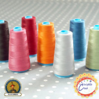 cône de fil polyester Au Chinois