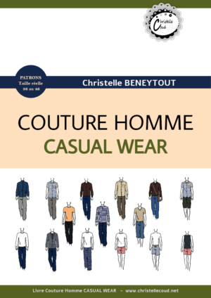livre couture homme casual wear homme christelle beneytout